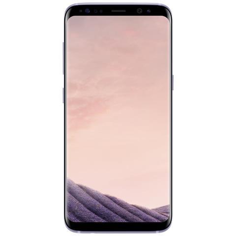 "SAMSUNG Galaxy S8 Viola 64 GB 4G / LTE Impermeabile Display 5.8"" Quad HD Slot Micro SD Fotocamera 12 Mpx Android Europa"