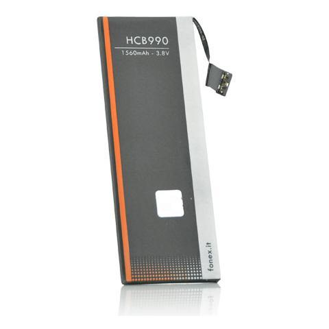 FONEX Batteria Li-Ion High Capacity 1560 mAh per Apple iPhone 5S