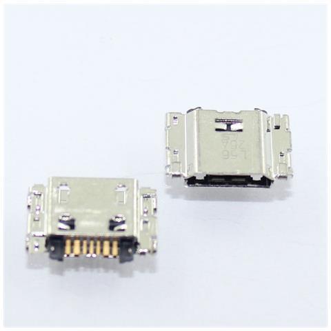 digital bay Ricambio Connettore Porta Microusb Carica Flex Cable Charging Port Per Samsung Galaxy J1 Sm-j100h