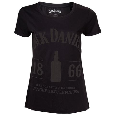 BIOWORLD Jack Daniel's - 1866 Black (T-Shirt Donna Tg. M)