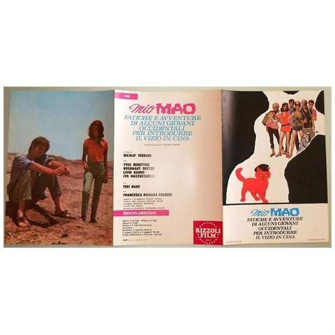 Vendilosubito Brochure Originale Del Film Mio Mao 1970 Raro
