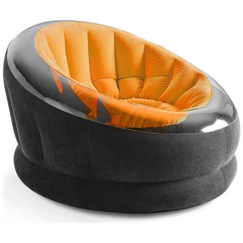 INTEX Poltrona Gonfiabile Arancio