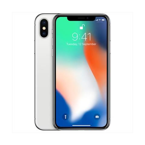 iPhone X 256 GB Argento