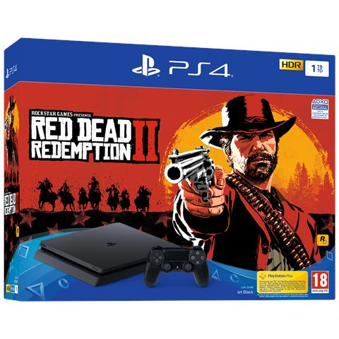 Image of Console PS4 1TB F + Red Dead Redemption 2