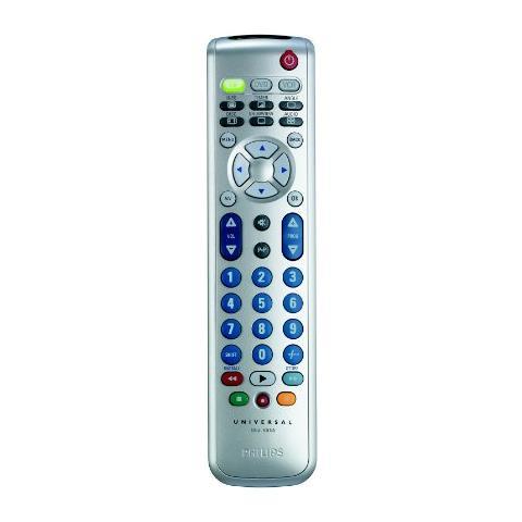 PHILIPS Telecomando Universale Philips SRU5130/87 Wireless - Per Set-top Box, TV, Lettore DVD, VCR, DVB-T - 10,06 m Operationg Distance