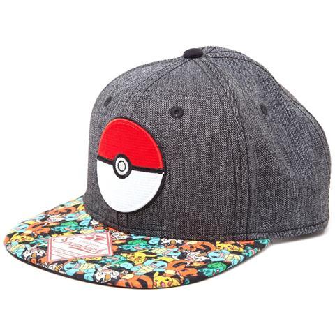 BIOWORLD Pokemon - Poke Ball Snapback (Cappellino)