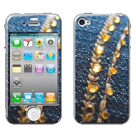 SMARTBUNNY Pellicola Protettiva Shining Jeans iPhone 3/3GS