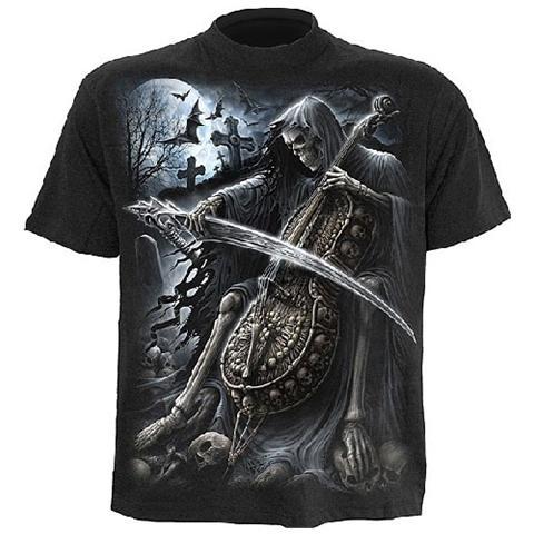 Spiral Direct Spiral - Symphony Of Death - T-shirt Black (T-Shirt Unisex Tg. M)
