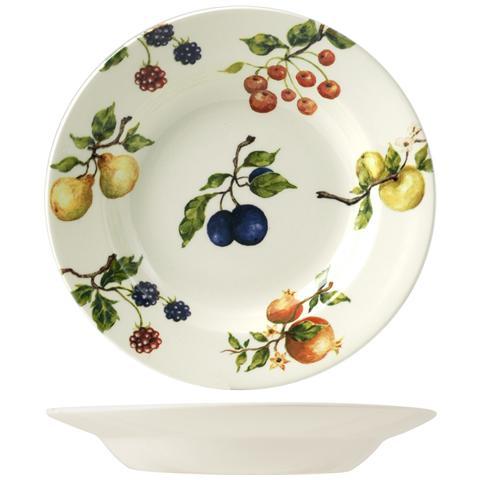 Ori Set 6 Piatti Fruit Season Fondo Cm23,1 Stoviglie