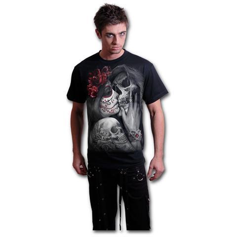 SPIRAL Dead Kiss Black (T-Shirt Unisex Tg. M)