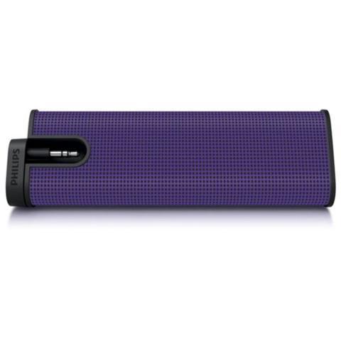 PHILIPS Speakers SBA1610. 2W Rms - Colore Viola