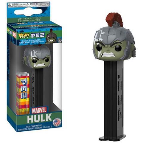 FUNKO Action Figure Funko Pop! Pez: Marvel - Hulk W / Chase