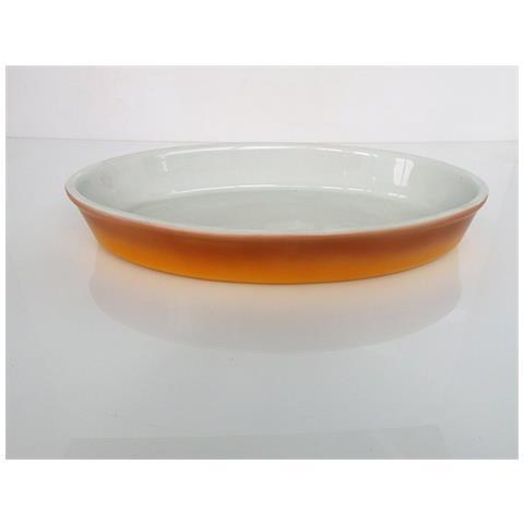 Fimel Pirofila In Porcellana Ovale, Dimensioni 42x25x6 Cm.