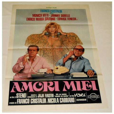 Vendilosubito Manifesto Originale Del Film Amori Miei