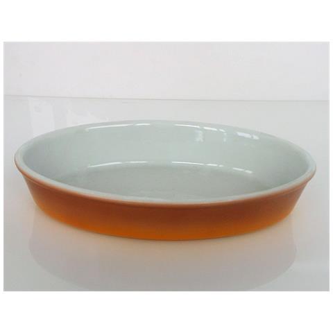 Fimel Pirofila In Porcellana Ovale, Dimensioni 28x17x5 Cm.