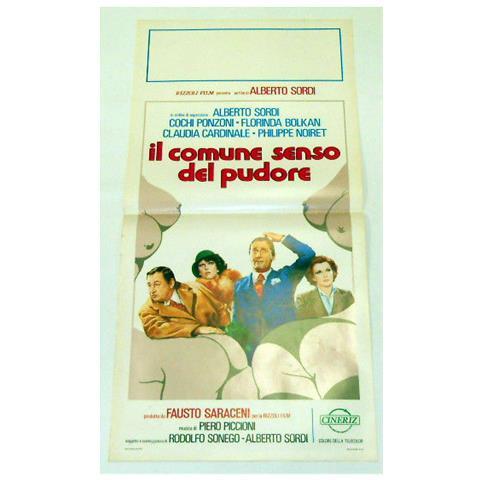 Vendilosubito Locandina Originale Del Film Il Comune Senso Del Pudore Con Alberto Sordi