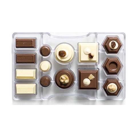 Decora Stampo cioccolatino geometrico- 200x120x22mm