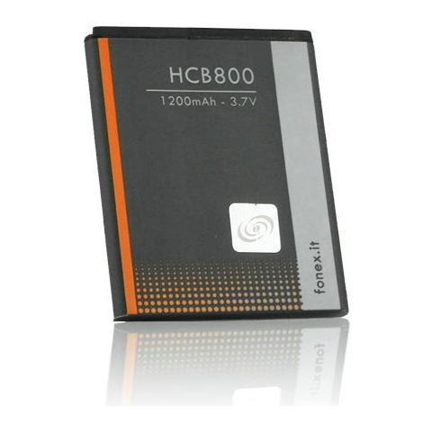 FONEX Batteria Li-Ion High Capacity 1200 mAh per Samsung S7230 / S5570