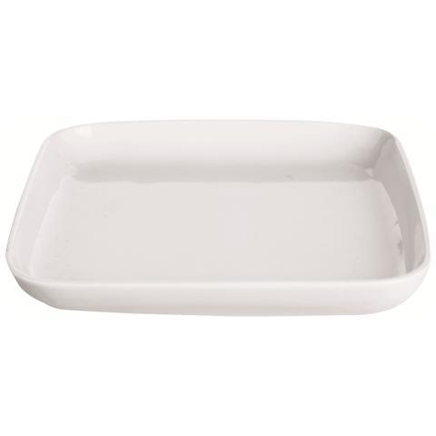 Piatto Quadro White Home Bianco 16,4 x 16,4 cm