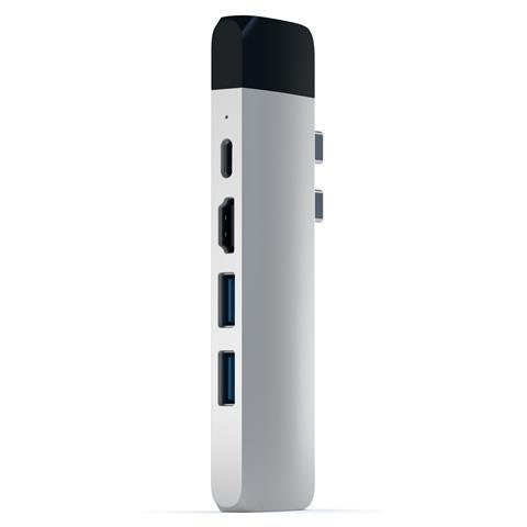 Pro Hub USB-C con Ethernet + HDMI 4k Colore Silver