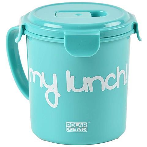 Contenitore Alimentare Per Zuppe (685ml) (azzurro)