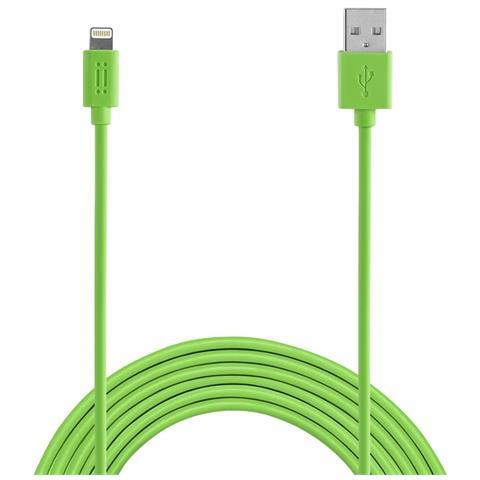 AIINO Apple Lightning cable 1,2m MFI - Green
