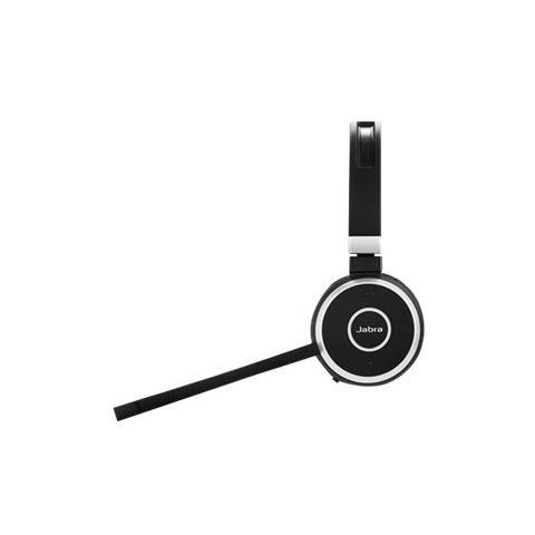 JABRA Evolve 65 UC Stereo USB Bluetooth - Nero