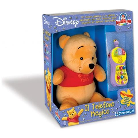 Clementoni Winnie The Pooh Telefono Magico