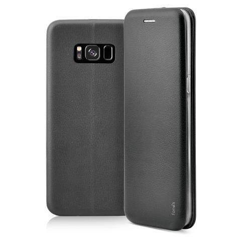 FONEX Flip Cover Custodia Profile per Galaxy Note 8 colore Nero