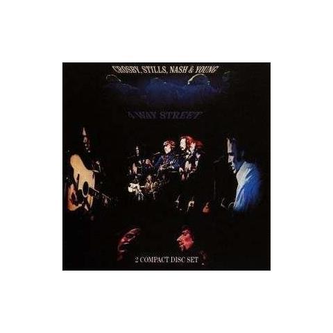 Video Delta Cd Crosby, Stills, N. & Y. - 4 Way Street
