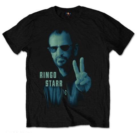 ROCK OFF Ringo Starr - Colour Peace (T-Shirt Unisex Tg. L)