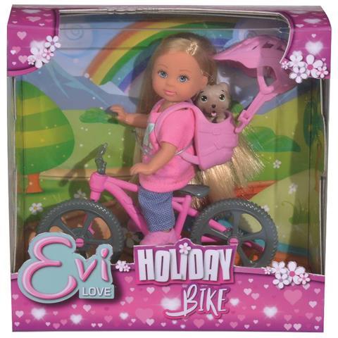 SIMBA SBA105733273038 Evi Love - Evi in Bici con il Cagnolino
