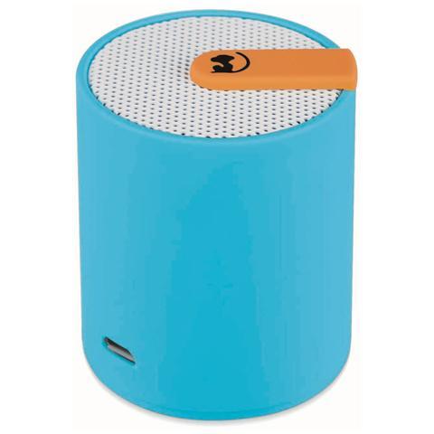 Wonky Monkey Speaker Audio Portatile SP-BT50 Bluetooth 2.1 Jack Audio 3.5mm colore Azzurro