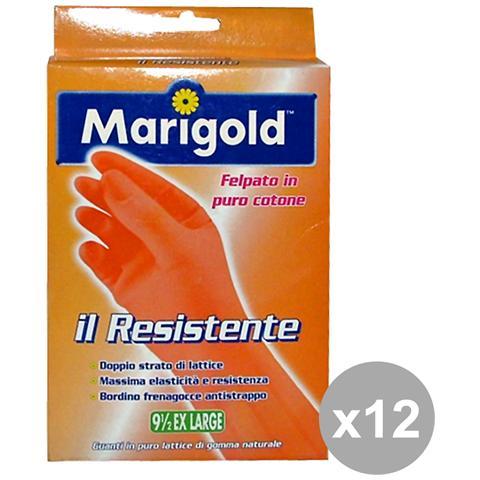 Marigold Set 12 Guanti Resistenti Xl Giardinaggiog