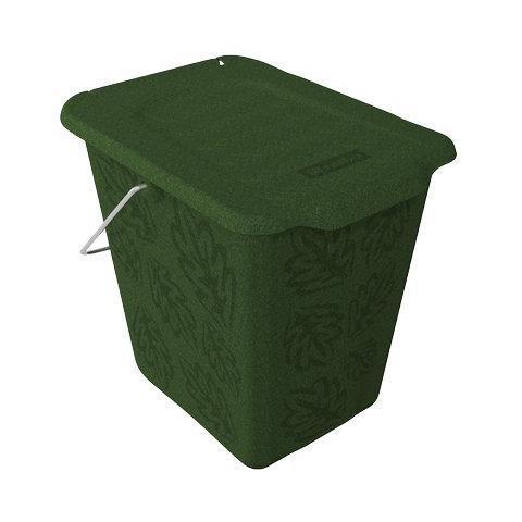 ROTHO pz. 1 Pattumiera rettangolare 26x20.8x25.2 verde 7 lt F70775