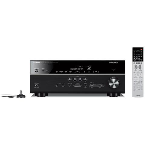 YAMAHA Sintoamplificatore RX-V679 7.2 x 150Watt HDMI / USB Wi-Fi AirPlay DLNA Bluetooth MusicCast 4K Pass-Through colore Nero