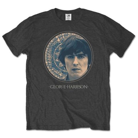 ROCK OFF George Harrison - Circular Portrait (T-Shirt Unisex Tg. 2XL)