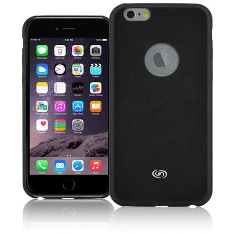 FONEX Executive Cover in Ecopelle per iPhone 6 Plus / 6S Plus Colore Nero