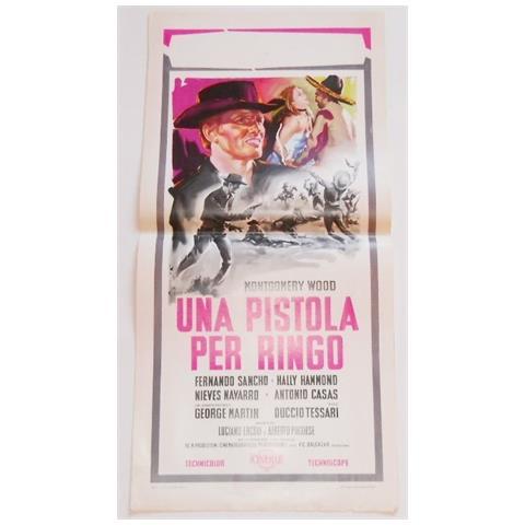 Vendilosubito Locandina Originale Una Pistola Per Ringo Giuliano Gemma 1965