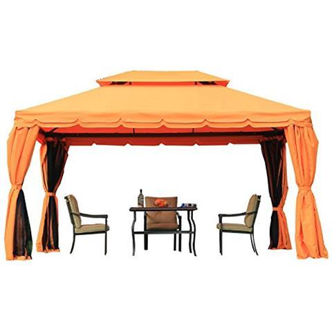 Padiglione di lusso padiglione da giardino gazebo tenda da giardino pagoda 3x4m