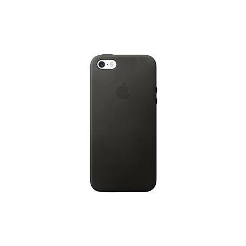 APPLE Custodia in Pelle per iPhone SE Colore Nero