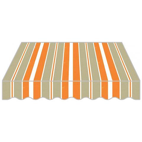Tenda Da Sole A Bracci Estensibile In Poliestere Di Colore Arancione