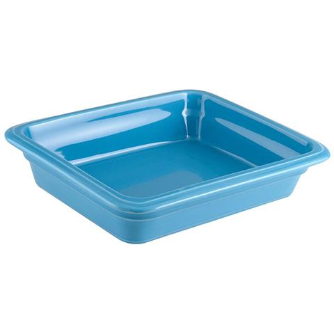 Bacinella Gn 1/2 Cm 32x26,5x6,5 Porcellana Azzurro