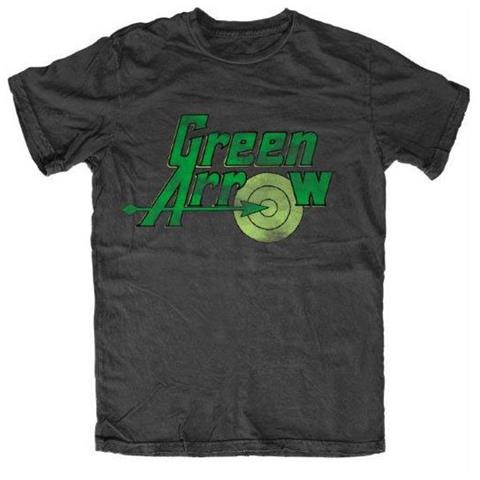 TimeCity Dc Originals - Green Arrow - Logo Black (T-Shirt Unisex Tg. M)