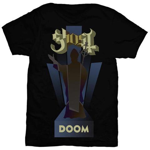 ROCK OFF Ghost - Doom Black (T-Shirt Unisex Tg. XL)