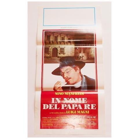 Vendilosubito Locandina Originale Del Film In Nome Del Papa Re Co Nnino Manfredi