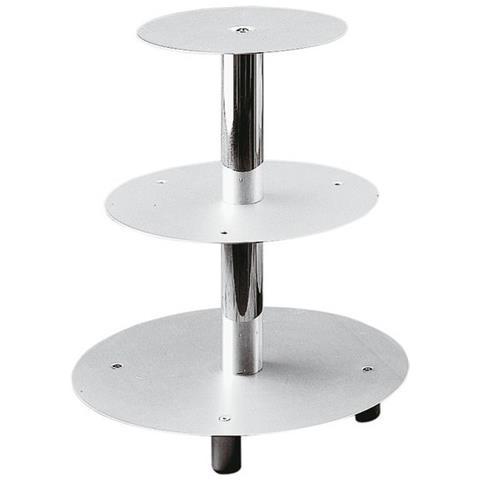 Alzata Per Torte 3 Piani Alluminio