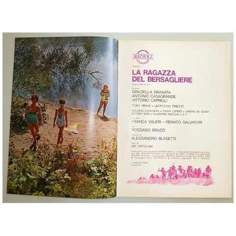 Vendilosubito Brochure Originale Del La Ragazza Del Bersagliere 1967 Raro