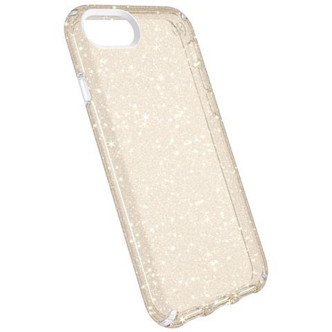 """SPECK Presidio Clear + Glitter 4.7"""" Cover Oro, Trasparente"""