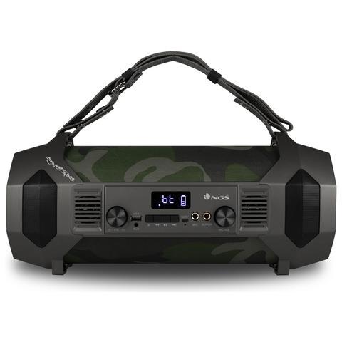 Street Force - Boombox portatile da 150 W, compatibile con tecnologia Bluetooth (USB / Mic...